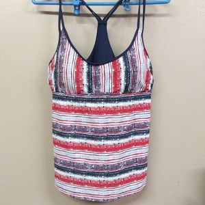 NWOT Mossimo swimsuit top tankini L